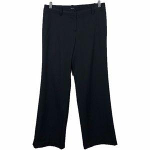 Tommy Hilfiger Dress Pants Black Wide Leg Career 4